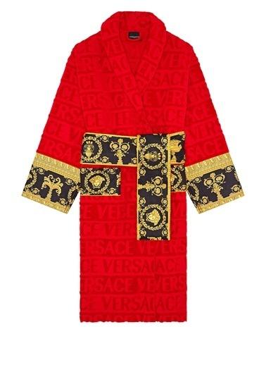 Versace Bornoz Kırmızı